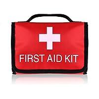 Mini Compact Kit di primo soccorso Plusinno Sacchetto medico di emergenza per la casa di viaggio Sport Sopravvivenza (36 Pezzi)