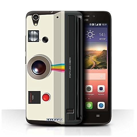 Coque de Stuff4 / Coque pour Huawei Ascend G620S / Instantanée Retro Design / Appareil Photo Collection