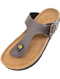 Chanclas para mujer estilo veraniego, playa, sandalias de vacaciones, zapatos