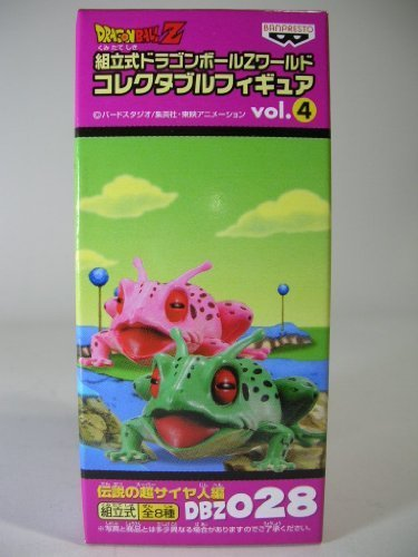 DBZ028 single item Super Saiyan Hen frog vol.4 legendary Dragon Ball Z Dragon Ball Z prefabricated World Collectable Figure (Ginyu) & Mesugaeru (japan import)
