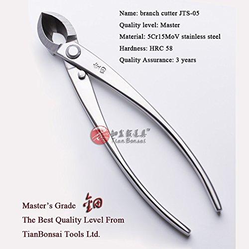 Troncarami Master di qualità di livello bonsai Tools straight Edge 205mm (20,3cm) Prodotto da Tianbonsai