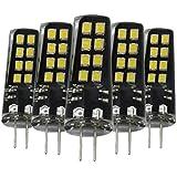 EKINHUI LED G4 3W 16LED 2835SMD 200-300 Lm AC / DC 10-30V calientan las luces decorativas blancas blancas frescas blancas naturales del Bi-perno del LED (5PCS) ( Color : Cool White )