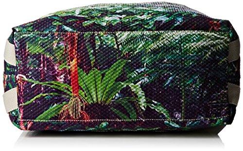 Kipling Damen Lazy Daisy Basic Plus Capsule Schultertaschen, Grün (Cactus Garden J44), 49x36x15 cm Grün (Cactus Garden J44)