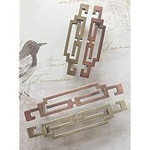 Venta al por mayor venta chino antiguo armario cajón mango parrilla zapatero armario muebles Hardware 055