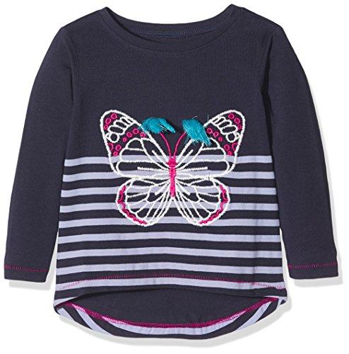 Long Sleeve Graphic Tee (Hatley Mädchen Long Sleeve Graphic Tees Langarmshirt, Blau (Tasselled Wings 400), 3 Jahre)