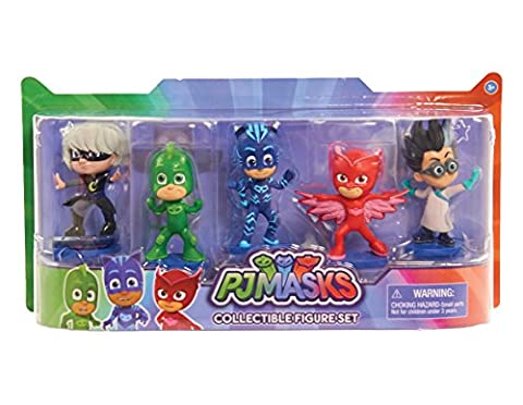 JP PJ Masks Collectible Figure (Pack of 5)