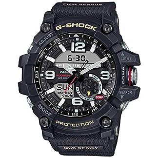Casio G-Shock Analog-Digital Black Dial Men's Watch – GG-1000-1ADR (G660)