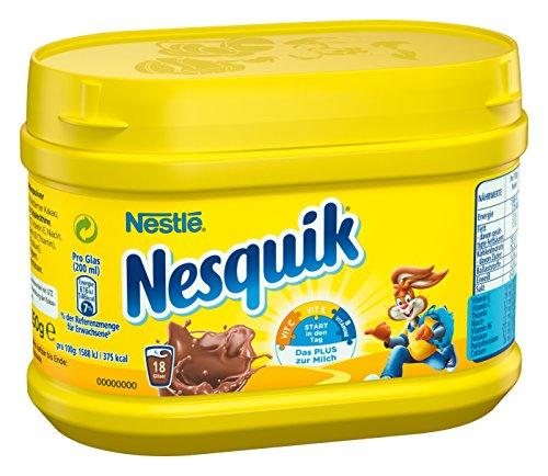 Nestlé Nesquik kakaohaltiges Getränkepulver (zum Einrühren in Milch, mit Vitamin-Mix,...
