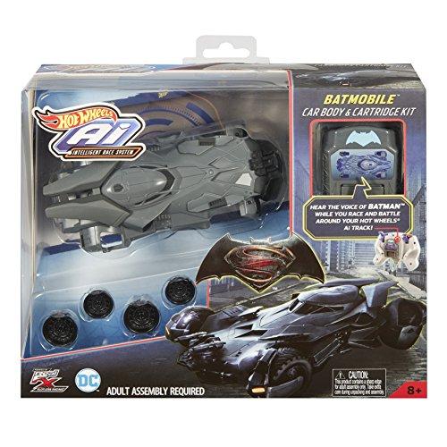 Mattel Hot Wheels ffy79–AI batmobil carrocería de y controlador de uso de Juego