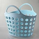 XQXCaliente portátil casa creativa malla cestillo cesto basura , light blue