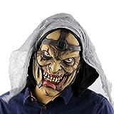 MIANJU@ Máscara De Halloween Horrorosa Máscara De Halloween Esqueleto...