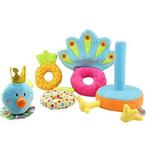 seedweb-multifunctional-stacking-rings-developmental-toys-soft-play-stackers-peacock