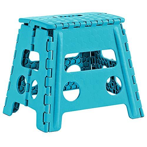 """1x Zeller Klapphocker \""""Color\"""", Kunststoff, sort. Größe in cm: 37x30x32"""