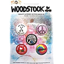 WOODSTOCK SURROUND YOURSELF WITH LOVE Button Set