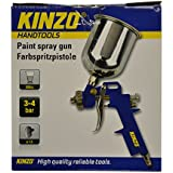 Kinzo 29639 - Pistola de pintura (3-4 bar, 500 ml)