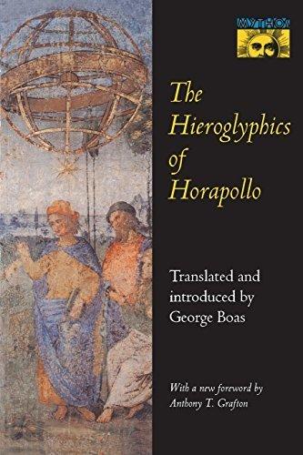 The Hieroglyphics of Horapollo by Niliacus, Horapollo (1993) Paperback