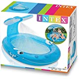 "Jilani Intex Whale Inflatable Pool Sprey Pool For Kids (83""x 62""x39"")"