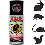 The Original RATSTOP Rat Rabbit Mice Squirrel Rodent Repeller Repellent Deterrant Spray