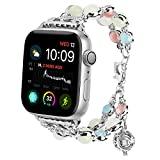 For Apple Watch Band 38mm, Tomazon Unique Luminous Night Pearl iWatch Bracelet Metal - Best Reviews Guide