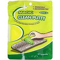 YLWL Magic Innovative Super Soft Sticky Dust Cleaning Gel Gum Universal Dust Cleaner Jaune