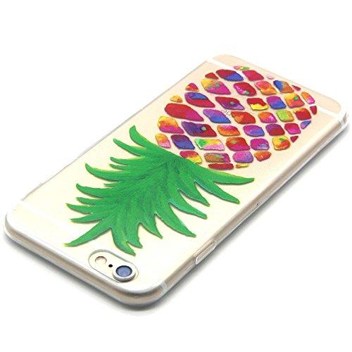 TPU Silikon Schutzhülle Handyhülle Painted pc case cover hülle Handy-Fall-Haut Shell Abdeckungen für Smartphone Apple iPhone 6 6S+Plus (5.5 Zoll)+Staubstecker (Q13) 3
