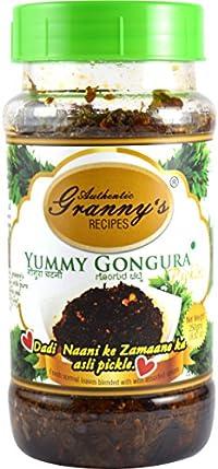 Authentic Grannys Recipes Yummy Gongura Pickle - 250Gm