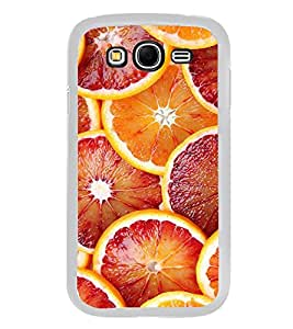 PrintVisa Designer Back Case Cover for Samsung Galaxy Grand 2 :: Samsung Galaxy Grand 2 G7105 :: Samsung Galaxy Grand 2 G7102 :: Samsung Galaxy Grand Ii (Orange Fruits Colourfull Pattern)