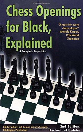 Chess Openings for Black, Explained: A Complete Repertoire por Lev Alburt
