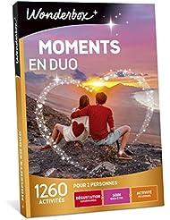 WONDERBOX - Coffret cadeau - MOMENTS EN DUO