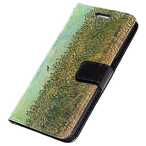 van-gogh-wheat-field-with-a-lark-nero-portafoglio-magnetico-custodia-in-pelle-con-funzione-di-appogg
