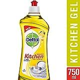 #3: Dettol Kitchen Dish and Slab Gel - 750 ml (Lemon Fresh)