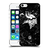 Head Case Designs Offizielle NFL Marmor 2017/18 Minnesota Vikings Ruckseite Hülle für Apple iPhone 5 / 5s / SE