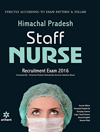 Himachal  Pradesh Staff Nurse Recuitment Exam 2016