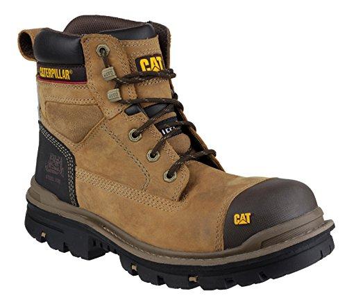 Wrksch Segurança Bege Sapatos Betw Cascalho adultos S3 Gato De Unisex Proteq hg v6xttf