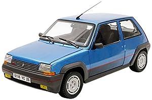 Norev-5GT Turbo Fase 11986Renault vehículo Miniature, 185207, Azul Metal, (Escala 1/18