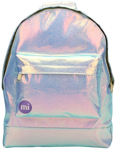 Mi-Pac Unisex Backpack Mochila Pebbled Iridium
