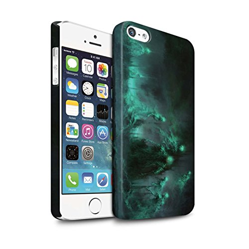 Offiziell Chris Cold Hülle / Matte Snap-On Case für Apple iPhone 5/5S / Pack 5pcs Muster / Unterwelt Kollektion Hades/Phantom