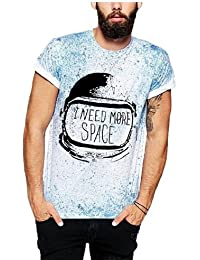T-Shirt with Splatter Print