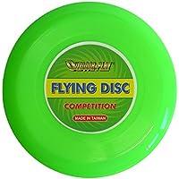 Outdoor Play Flying Disc Frisbee   Competición (Diámetro DE 25,4cm Competition con Vuelo Excelente, Neon Verde