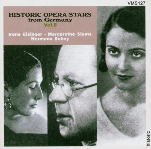 voix d'opera historiques d'allemagne vol.2