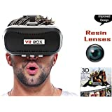 Global Craft Virtual Reality Glasses, 3D Vr Headsets Compatible for iPhone, Samsung, Motorola, Sony, Oneplus, HTC and All Android Devices Model 76503