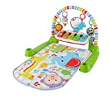 Fisher-Price Gimnasio Bebé Piano Pataditas Superaprendizaje, Multicolor (Mattel FWT12)