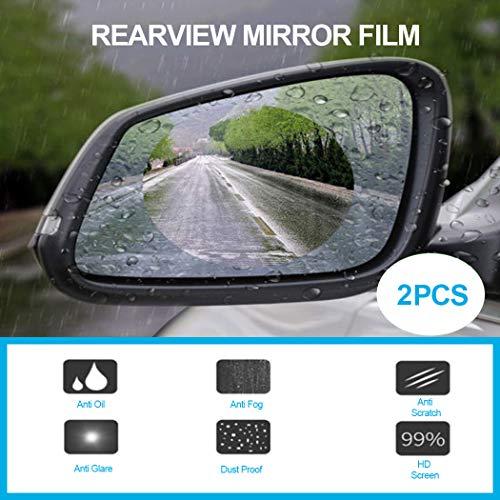 2 Stücke Auto Anti Wasser Nebel Film Anti Fog Rainproof Rückspiegel Schutzfolie Hoher Standard In QualitäT Und Hygiene Auto & Motorrad: Teile Sonstige
