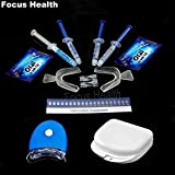 Best Bleach For Teeths - Teeth Whitening Kit With 4 Gel 2 Strips Review