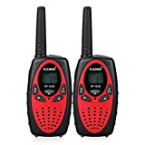 FLOUREON Talkie Walkie Paire 8 canaux UHF400-470MHZ 2-Way...
