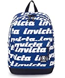Backpack Invicta Carlson Pro Lettering Blue Print