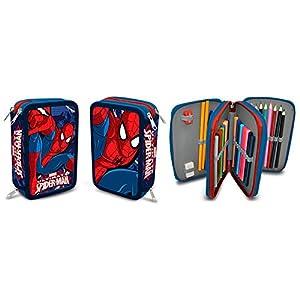 Plumier Spiderman Marvel Ultimate triple