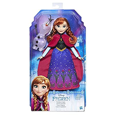 NEW Disney B9200 Frozen Northern Lights Doll Anna and Olaf Figure por Hasbro
