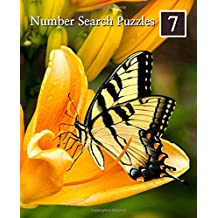 Number Search Puzzles 7: 100 Elegant Puzzles in Large Print