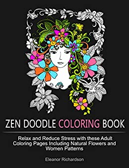 Zen Doodle Coloring Book Relax And Reduce Stress With